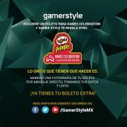 Gamer Style te da 2×1 en tu boleto para Games Celebration