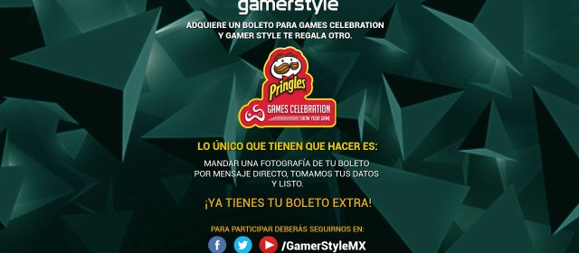 Gamer Style te da 2×1 en tu boleto para Games Celebration