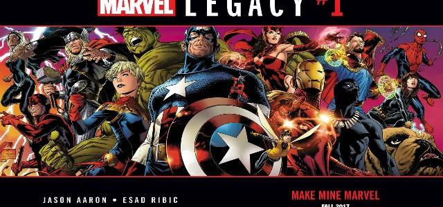 eBay lanzó una edición especial de Marvel Legacy #1