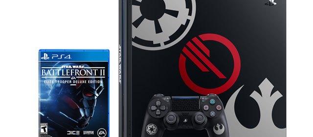 Habrá edición especial de PS4 de Star Wars Battlefront II
