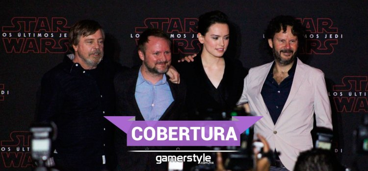 Galería: conferencia de prensa The Last Jedi