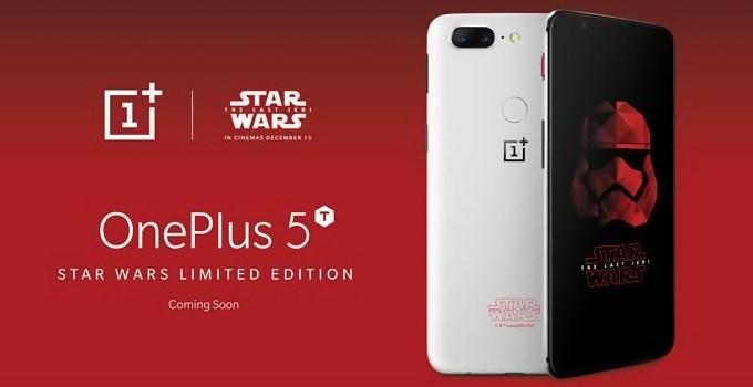OnePlus 5T se une al lado oscuro