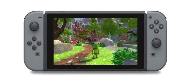 Trailer de lanzamiento de Yooka-Laylee para Nintendo Switch