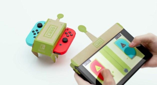 Nintendo fusiona el Switch y el cartón con Nintendo Labo