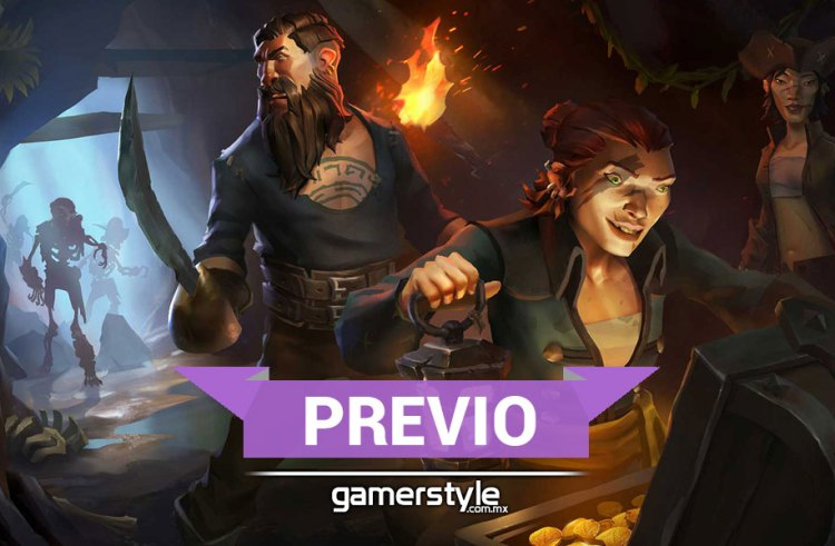Previo: beta cerrada Sea of Thieves