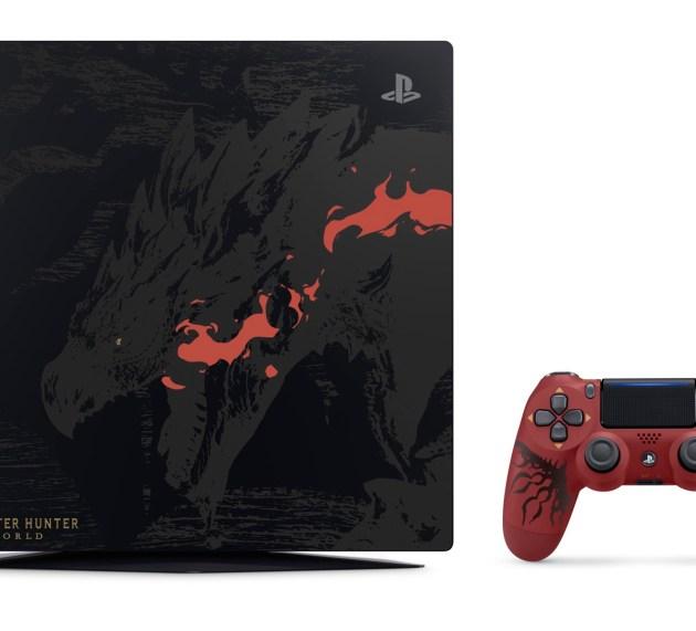 Habrá PS4 Pro Edición limitada de Monster Hunter