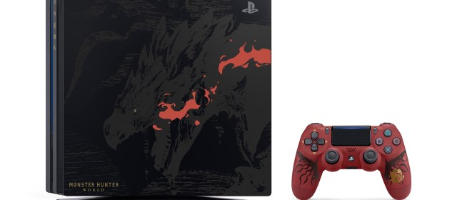 Habrá PS4 Pro Edición limitada de Monster Hunter