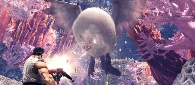 Ryu y Sakura llegan a Monster Hunter: World