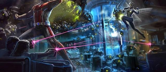 Los superhéroes de Marvel invadirán varios parques de Disney