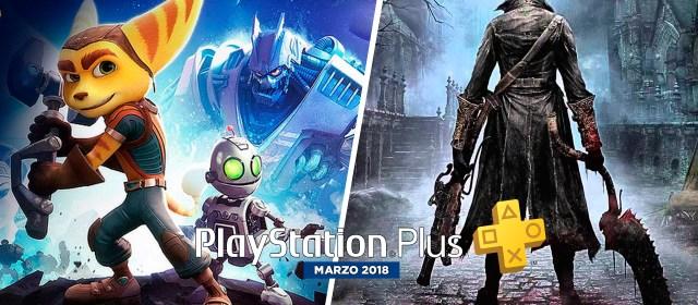 Revelados los juegos de marzo para PlayStation Plus