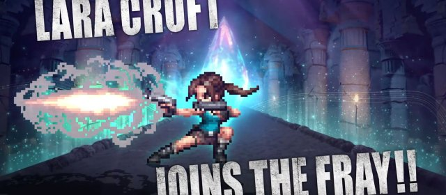 Lara Croft llega a Final Fantasy Brave Exvius