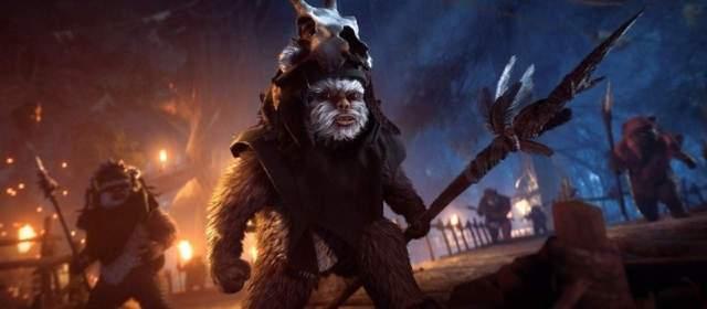 La actualización de Star Wars Battlefront II Night on Endor