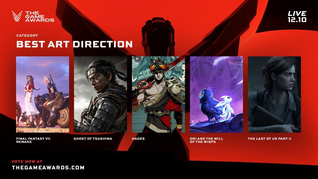 Mejor dirección de arte - The Game Awards 2020