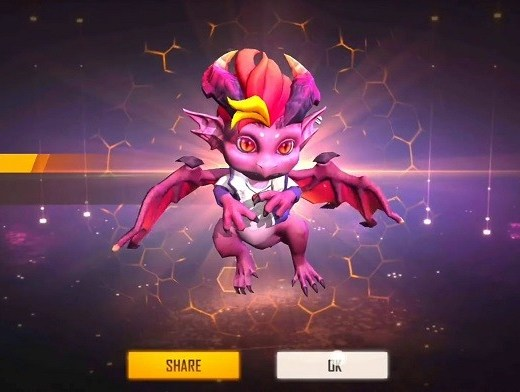 How To Get New Dreki Pet For Free In Free Fire