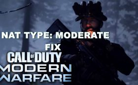 call of duty modern warfare nat moderate fix