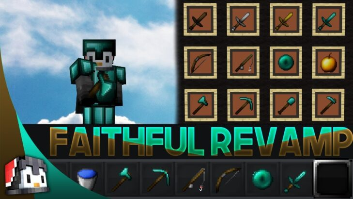 In this case, it's the brand new 1.17.1 update that fixes some bugs and makes a few changes to the gameplay. Faithful Revamp 32x MCPE PvP Texture Pack - Gamertise