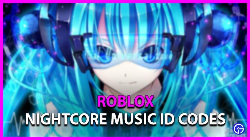 Here's another series of anime decals. Roblox Nightcore Music Id Codes September 2021 Gamer Tweak