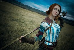 the_witcher_2_cosplay___triss_merigold_3_by_greatqueenlina-d6zgt2l