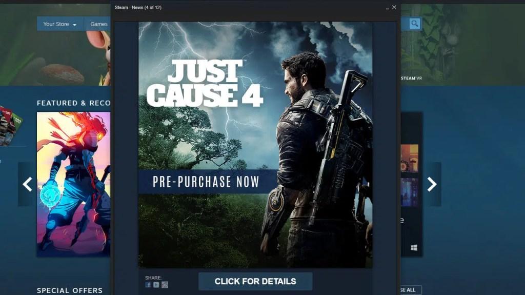 Just Cause 4 Steam