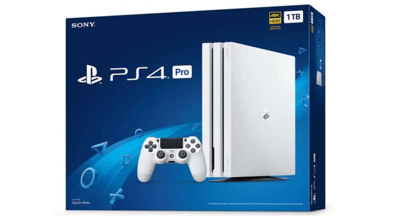 Playstation 4 Pro Biała