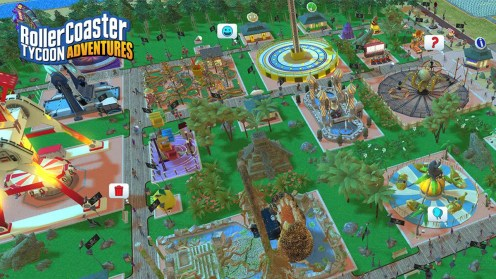 Rollercoaster Tycoon Adventures Screen 5