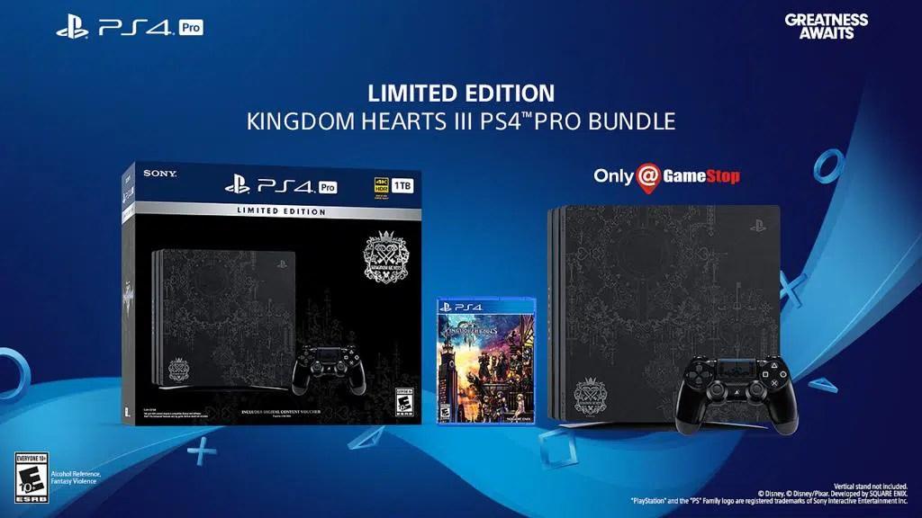 Kingdom Hearts Iii Ps4 Pro Edycja Limitowana