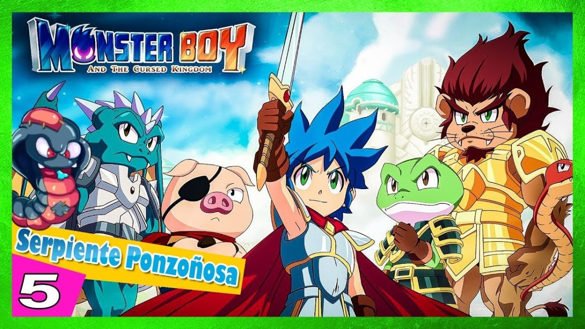 🐷 Monster boy and the cursed kingdom - Serpiente ponzoñosa 5