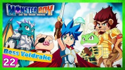 Monster boy and the cursed kingdom gameplay español Boss Voldrake Dragon 22
