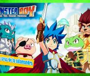 monster boy and the Cursed Kingdom gameplay La legendaria cruz de la salamandra 33