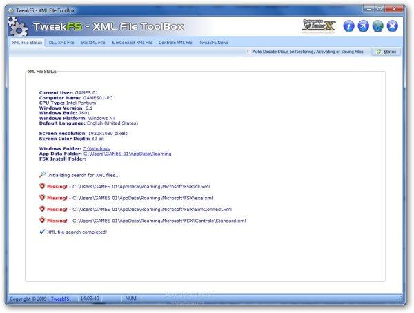 FSX XML File ToolBox Download