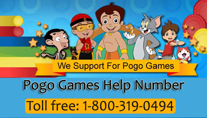 Pogo games Customer Service Number
