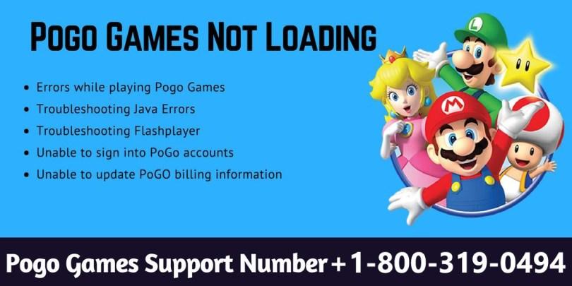 pogo game not loading