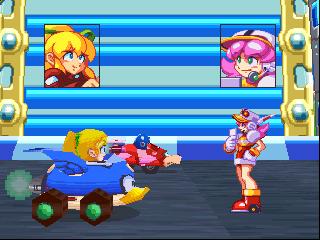 Mega Man Battle & Chase Screenshot