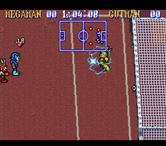 Mega Man Soccer Screenshot3