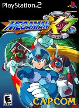Mega Man X7 Cover