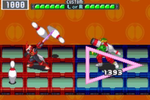 Mega Man Battle Network 3 Screenshot