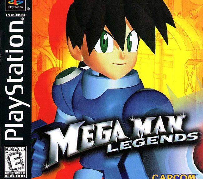 Mega Man Legends Cover
