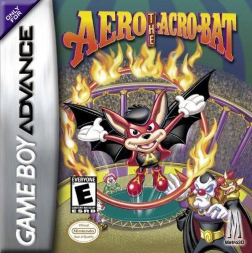 Aero the Acro-Bat Cover - Game Boy Advance