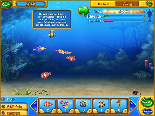 Wähle die schönsten Fische für Dein Aquarium!
