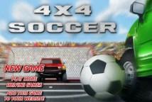 4X4 Soccer: A Car Soccer Game