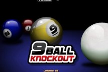 9 Ball Knockout Pool Game