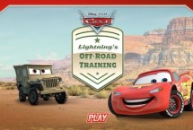 Cars: Lightning's off-road training