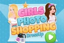 Girls Photo Shopping Dress up