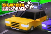 Super Blocky Race (Updgradable)