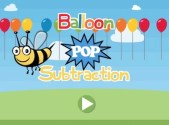 Balloon Pop Subtraction