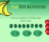 Fruit Splat Multiplication