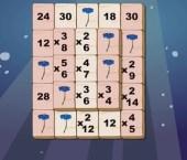 Math Mahjong Multiplication