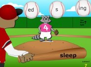 Base Word Baseball (Learning Suffix)