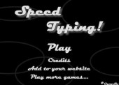 Speed Typing