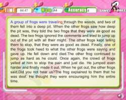 typing expert frogs